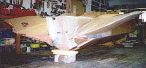 båtbygge i plywood